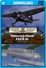 Stinson SR-8 Gullwing for FSX/P3D