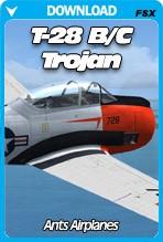 Ant's Airplanes Trojan T28 B/C (FSX/FSX:SE/P3Dv1-v4)