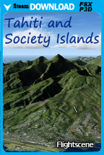 Tahiti and Society Islands (FSX/FSX:SE/P3Dv1-v4)