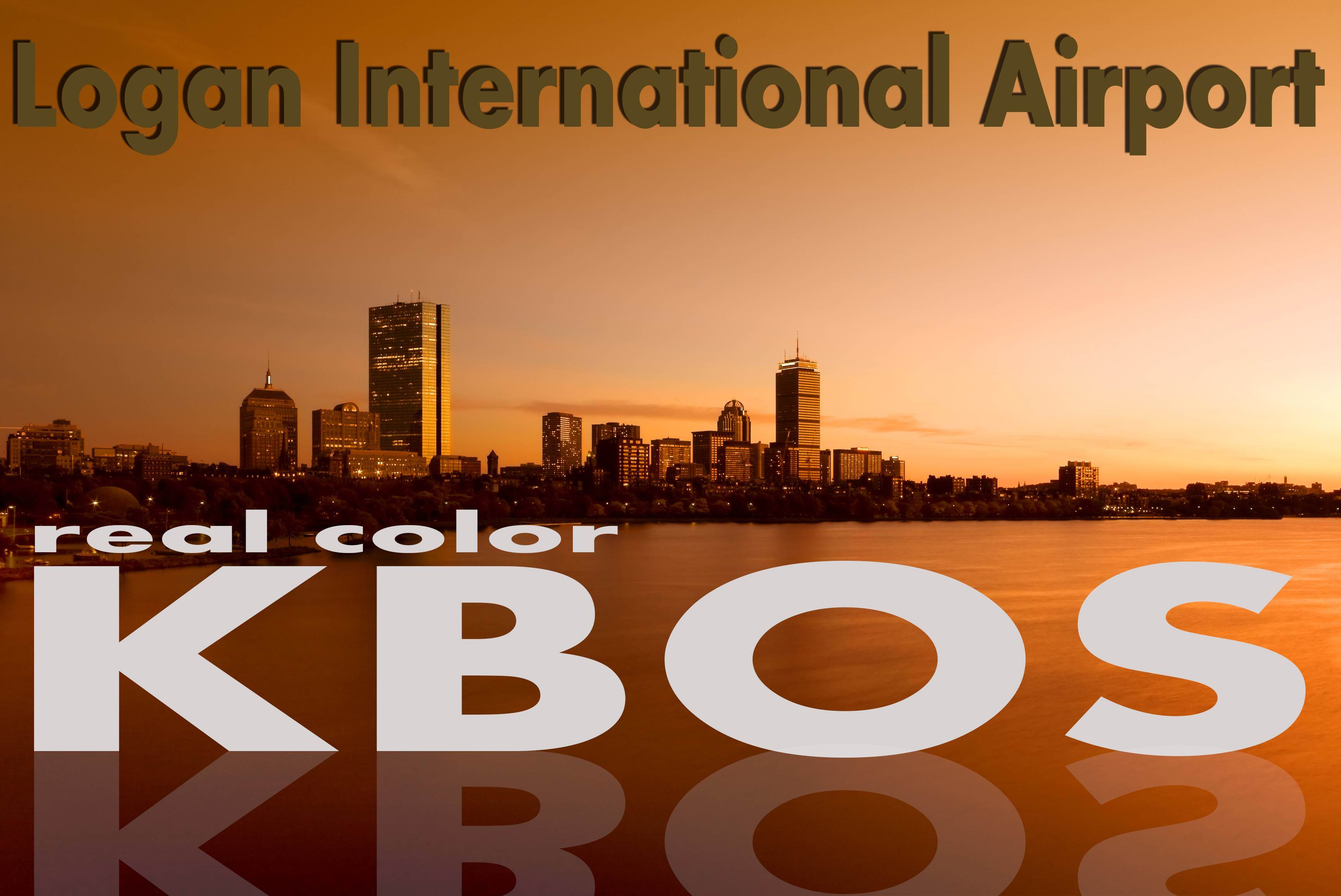 Real Color KBOS for Tower! 2011