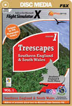 Treescapes Volume 1 - Southern England & Wales for FSX