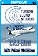 CRJ-900 CF-24-85C HD Pilot Edition Sound Package for FSX