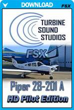 Piper 28-201 Arrow Pilot Edition Soundpackage for FSX
