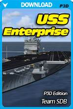 USS Enterprise (P3D)
