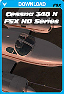 Carenado Cessna C340 II HD SERIES