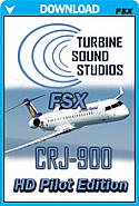 CRJ-900 CF34 HD Soundpack for FSX