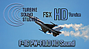 F-16 PW-F100 Soundpack For FSX HD Version