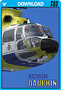 Eurocopter AS365N Dauphin (FSX/FS2004)