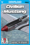 Wings Of Power 3: P51 Mustang Civilian