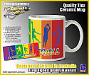 Lovin' Netball Ceramic Coffee/Tea Mug (Free Shipping)