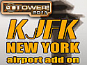 KJFK New York International Airport Add-On for Tower! 2011 (Download)