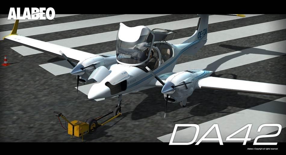 Fsx da40 new version
